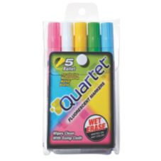 5 Piece Fluorescent Paint Markers