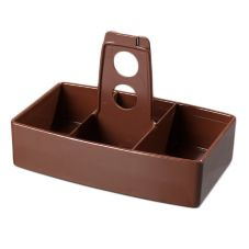 Carlisle® 455128 Lennox Brown Merchandiser Caddy
