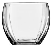 "Libbey® 5559/UPC00 Tapered Square 4-3/4"" Glass Votive - 12 / CS"