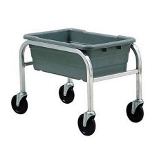 Heavy Duty Aluminum Lug Dolly, One Lug Capacity, 16x25x8-1/2 Lug Size