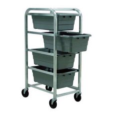 "New Age 1262 HD Aluminum 4-Shelf Lug Dolly for 16 x 25"" Lug Size"