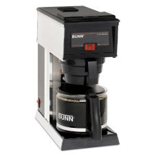 BUNN® 21250 Black 10-Cup Automatic Coffee Brewer with 1 Warmer
