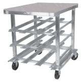 Win Holt® Mobile Can Dispensing Rack / Work Station