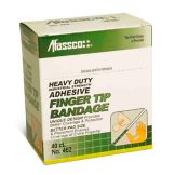 Afassco® 462 Coarse Woven Adhesive Fingertip Bandages - 40 / BX