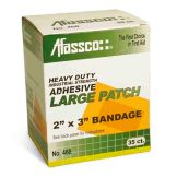 Afassco® 468 XL Coarse Woven Elastic Adhesive Patch - 35 / BX