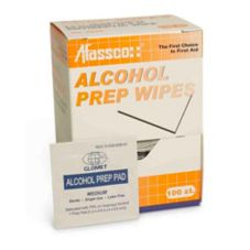 Afassco® 626 Alcohol Wipes - 24 / PK