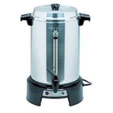 Focus Foodservice 13500 Polished West Bend 25-55 Cup Percolator