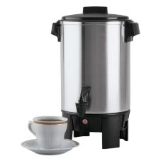 Regalware® Polished Aluminum 12-30 Cup Percolator