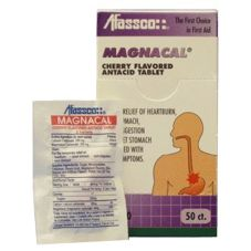 Afassco® Magnacal® Cherry Flavored 50 ct Antacid Tablets