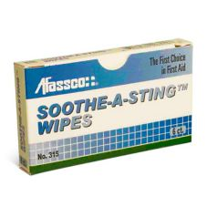Afassco® 315 Soothe-A-Sting Wipes - 6 / PK