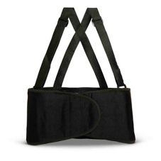 Afassco® 6001 SMALL Black Elastic Size 24-30 Back Belt