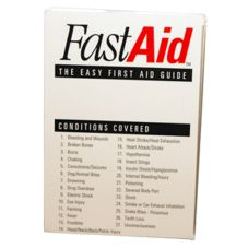 Afassco® 905 Fast Aid™ First Aid Guide