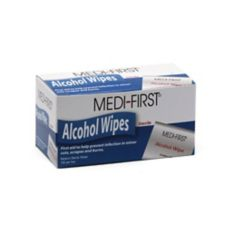 Afassco® 2626 Bulk Pack Alcohol Wipes - 100 / BX