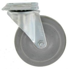 "Light to Medium Duty 4"" Swivel Caster w/o Brake"