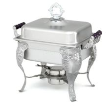 Vollrath® 46847 Royal Crest Half Size S/S 4.1 Qt. Complete Chafer