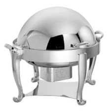 Ouverture Round S/S Roll Top 4 Qt Chafer