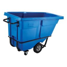 Rubbermaid® FG130500DBLUE Rotomolded  Dark Blue 750 lb Tilt Truck