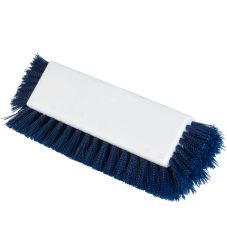 "Carlisle® 4042214 10"" Blue Dual Surface Floor Scrub Brush"