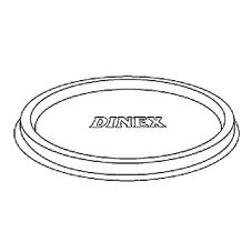 Dinex DX11838714 Classic Disposable Lid for X1187 - 1000 / CS