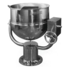 Groen™ D-40 Direct Steam 40-Gallon 2/3 Jacketed Tilting Kettle