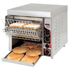 APW Wyott FT-1000H Fastrac Electric 208V Horizontal Conveyor Toaster