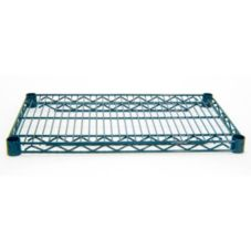"Advance Tabco EG-1836 18"" x 36"" Green Epoxy Wire Shelving"