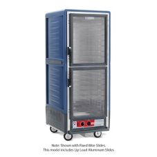 Metro Full C5 3 Heated Holding Cabinet W/Blue Armour