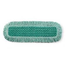 "Rubbermaid® FGQ42600GR00 24"" Green Dust Pad - 6 / CS"