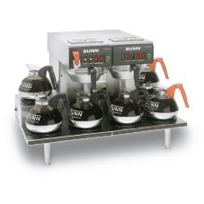 BUNN® Twin S/S 12 Cup Automatic Coffee Brewer with 6 Warmers
