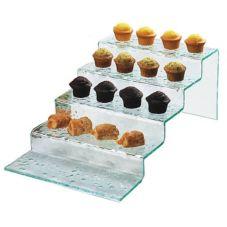 Cal-Mil® 1463 Faux Glass 5 Stair Step Riser