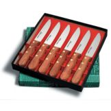 Dexter Russell P46005-6P Basics 6 Piece Jumbo Steak Knife Set - 6 / ST