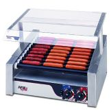 APW Wyott HR-31S HotRod® Slanted Roller Grill for 460 Hot Dogs