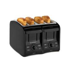 Hamilton Beach 24121 SmartToast® 4 Slice Black Toaster