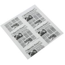 "American Metalcraft PPRN2121 12"" Newspaper Fry Paper - 1000 / PK"