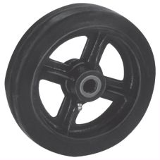 "Win-Holt® 712 Replacement 8"" x 2"" Mold On Rubber Wheel"