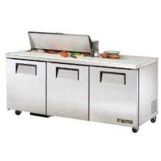 True TSSU-72-10 2-Door 10-Pan 19 Cu Ft S/S Sandwich & Salad Unit