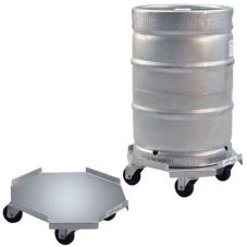 New Age Industrial 98037 Aluminum Octagon 175 Lb Capacity Keg Dolly