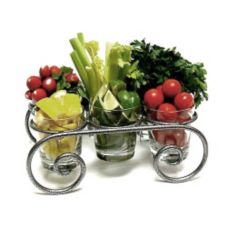 Scroll Garnish Caddy