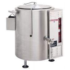 Blodgett 40G-KLS 40 Gal Gas Tri-Leg Stationary Kettle w/ Hinged Cover