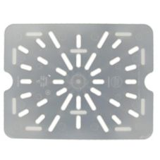 Cambro 20PPD190 Translucent 1/2 Size Drain Shelf for 24P/26PP - 6 / CS