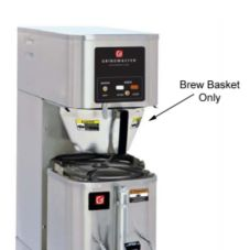 Grindmaster® ABB1.5SS S/S Brew Basket For Satellite Shuttle®