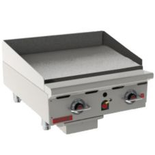 "Vulcan 924RX-30 HD 54,000 BTU Gas 24"" x 31-1/2"" Griddle"