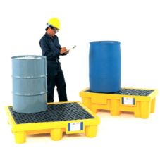 Ultra Tech 9631 P4 Plus Ultra-Spill Pallet With Drain