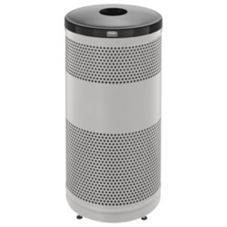 Rubbermaid® Stainless Steel 25 Gallon Recycle Receptacle