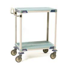 "Metro MXUC2436G-25 24 x 36 x 39"" MetroMax i® 3 Shelf Utility Cart"