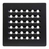 "Hutzler 508BL Black 7.75"" Square Trivet"