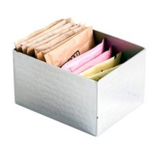 Orion SS181(RS) Random-Sanded Sugar Packet Holder