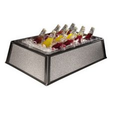 "Gourmet Display BH1221 Rigid Gray 20"" x 12"" Beverage Housing"