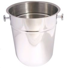 "Johnson-Rose 7890 10"" x 8-3/4"" Stainless Steel Champagne Bucket"