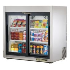 True® TSD-9G Reach-In Slide Door 8.2 Cu Ft Countertop Refrigerator